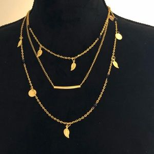 Jewelry - Just in! Festival chic 3 tiered boho necklace